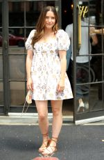SOPHIA BUSH and Grant Hughes Heading to a Brunch in New York 06/19/2021