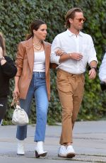 SOPHIA BUSH and Grant Hughes on a Date in New York 06/16/2021