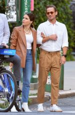SOPHIA BUSH and Grant Hughes Out in New York 06/16/2021