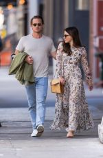 SOPHIA BUSH and Grant Hughes Out in New York 06/18/2021