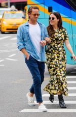 SOPHIA BUSH and Grant Hughes Out in New York 06/20/2021