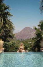 SYDNEY SWEENEY in Palm Springs Life Magazine, June 2021