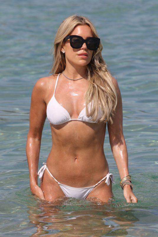 SYLVIE MEIS in Bikini at a Beach in Saint Tropez 06/06/2021