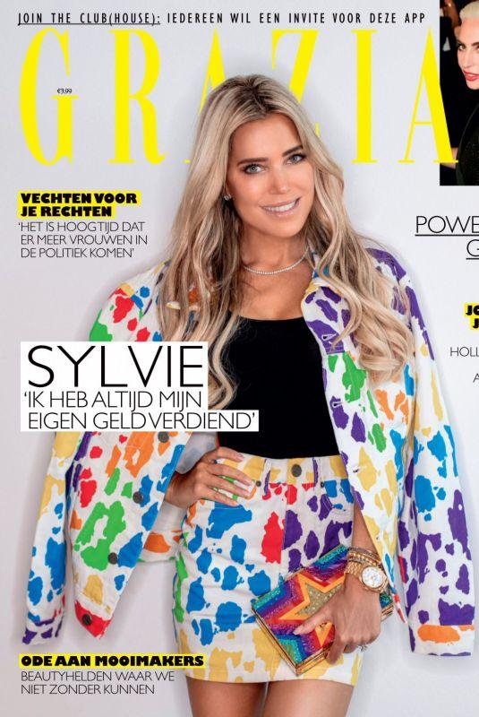 SYLVIE MEIS in Grazia Magazine, Netherlands March 2021