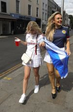 TALLIA STORM at Scotland Viewing Party in London 06/14/2021