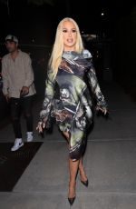 TANA MONGEAU at Boa Steakhouse in West Hollywood 06/18/2021