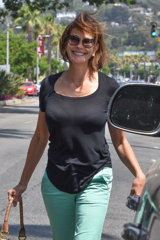 TERI HATCHER Out and About in Studio City 06/16/2021