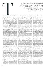 THANDIE NEWTON on Vogue Magazine, UK May 2021