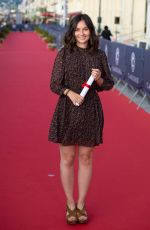 TIPHAINE HAAS at 35th Cabourg Film Festival 06/11/2021