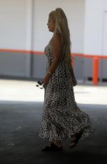 TORI SPELLING at a Gas Station in Beverly Hills 06/16/2021
