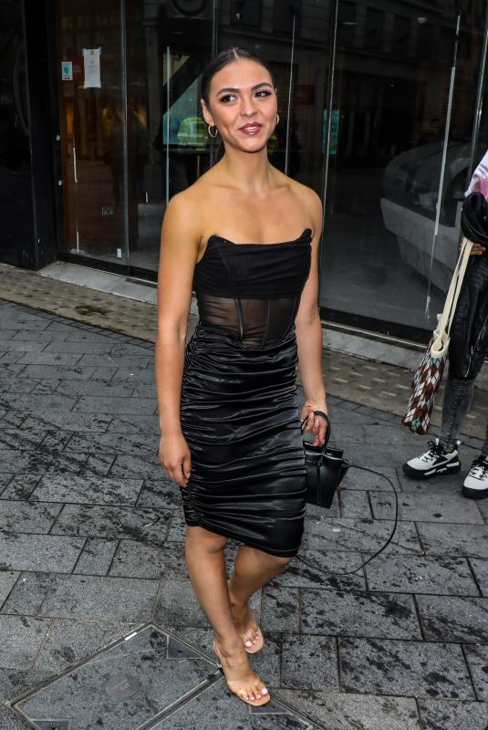 VANESSA BAUER Arrives at Black Widow Premiere in London 06/29/2021