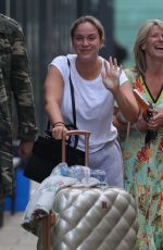 VICKY PATTISON Arrives at Stephs Packed Lunch Show 06/07/2021