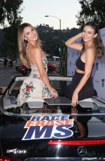 VICTORIA JUSTICE and MADISON REED at 2021 Race to Erase MS in Pasadena 06/04/2021