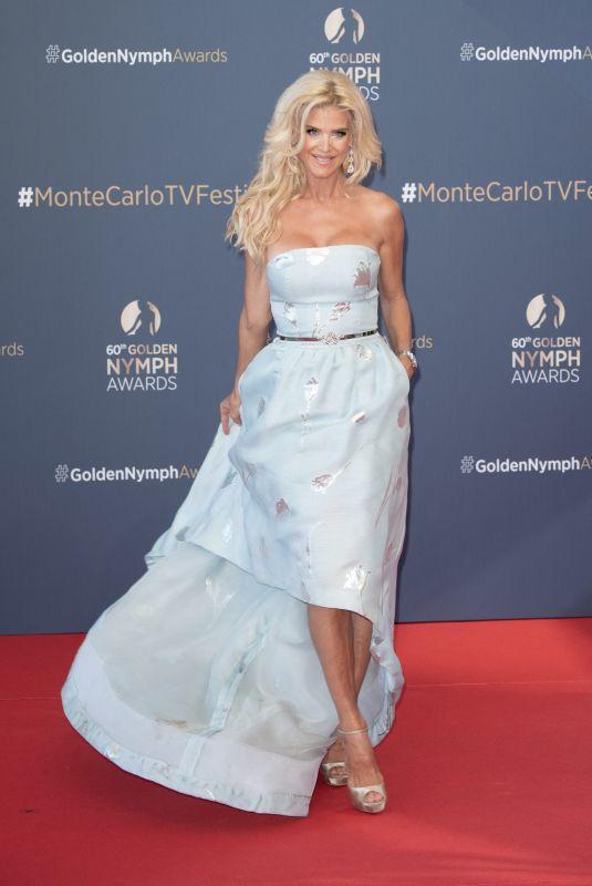 VICTORIA SILVSTEDT at 60th Monte Carlo TV Festival Closing Ceremony 06/22/2021