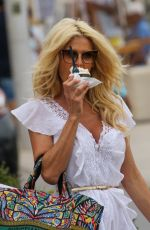 VICTORIA SILVSTEDT Out and About in Saint Tropez 06/19/2021