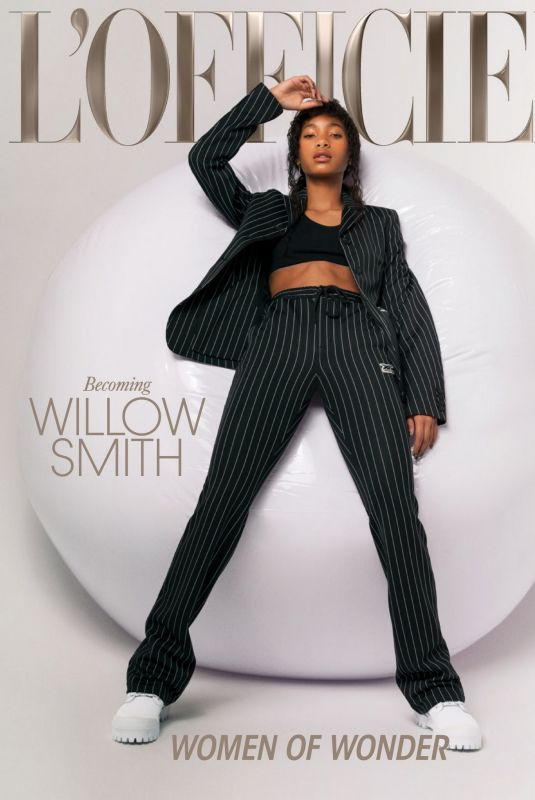 WILLOW SMITH in L'Officiel Magazine, Summer 2021