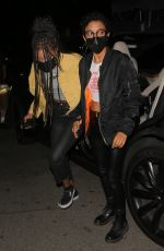 WILLOW SMITH Out with Her Friends at Nice Guy in Los Angeles 06/01/2021