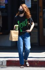 ZOEY DEUTCH Out for Green Tea in West Hollywood 06/14/2021