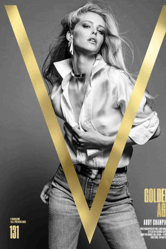 ABBY CHAMPION for V Magazine, Pre-fall 2021