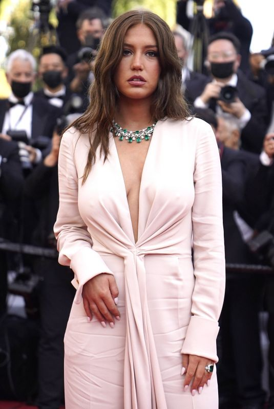 ADELE EXARCHOPOULOS at De Son Vivant Screening at 74th Annual Cannes Film Festival 07/10/2021
