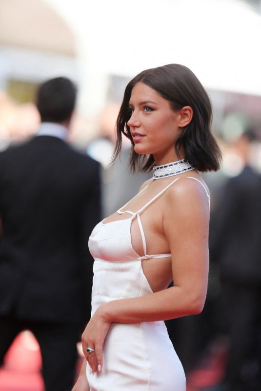 ADELE EXARCHOPOULOS at OSS 117: From Africa With Love Screening at 2021 Cannes Film Festival 07/17/2021