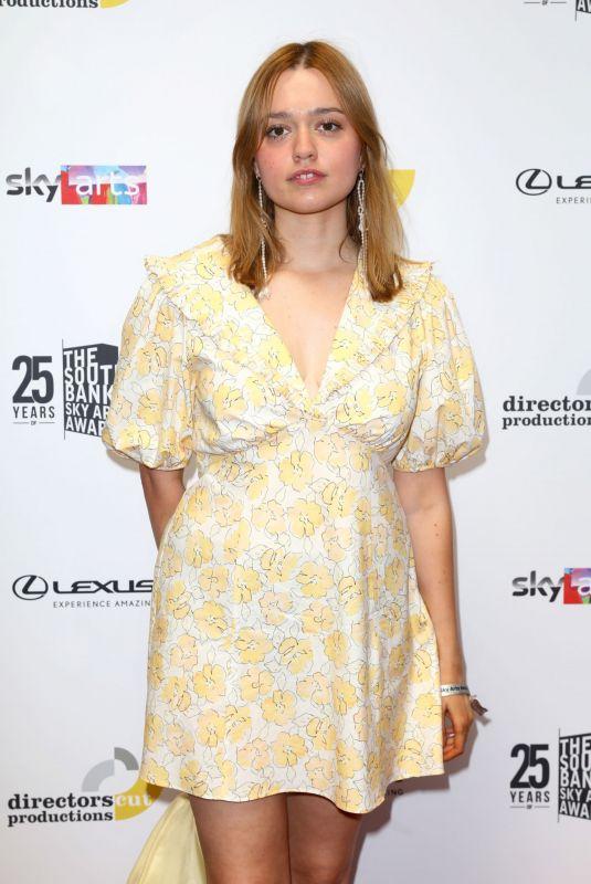 AIMEE LOU WOOD at South Bank Sky Arts Awards in London 07/19/2021