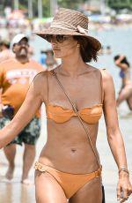 ALESSANDRA AMBROSIO in Bikini at a Beach in Florianopolis 07/26/2021