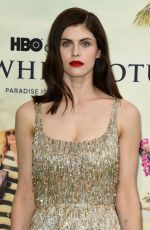 ALEXANDRA DADDARIO at The White Lotus Premiere in Pacific Palisades 07/07/2021