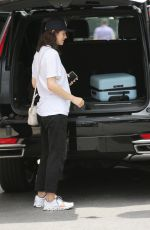 ALEXANDRA DADDARIO Leaves Her Hotel in New York 07/11/2021