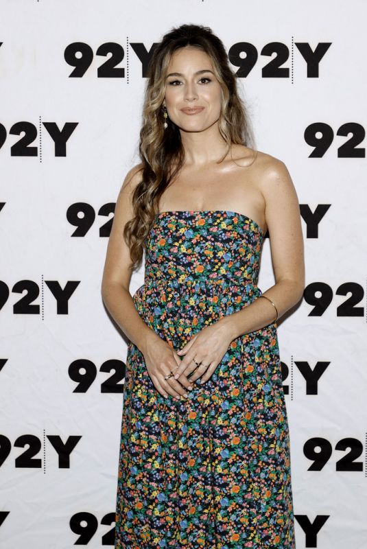 ALISON LUFF at Cast of Starz's Heels in Conversation at 92nd Street Y in New York 07/29/2021