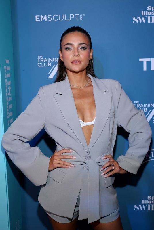 ALLY COURTNALL at 2021 Sports Illustrated Swimsuit Celebration in Hollywood 07/24/2021