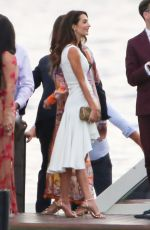 AMAL and George CLOONEY at Holiday in Tremezzo 07/2021