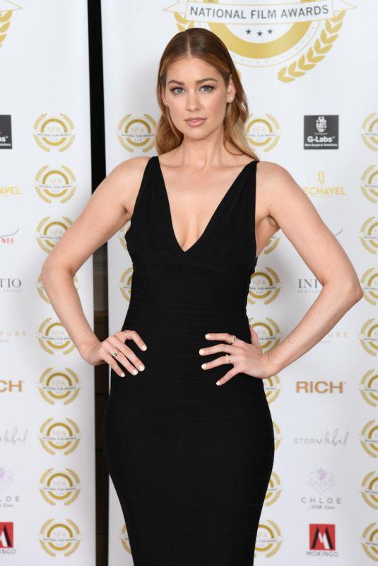 AMANDA CLAPHAM at National Film Awards 2021 in London 07/01/2021