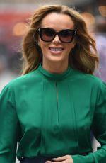 AMANDA HOLDEN Arrives at Global House in London 07/14/2021