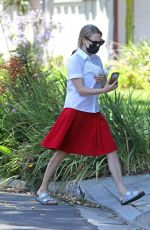 AMANDA SEYFRIED on the Set of The Dropout in Los Angeles 07/09/2021