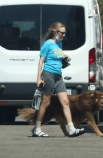 AMANDA SEYFRIED on the Set of The Dropout in Los Angeles 07/20/2021