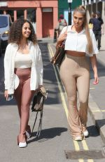 AMBER GILL and ANNA VAKILLI Out in London 07/22/2021