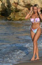 AMBER TURNER in Bikini at a Beach in Mykonos 07/15/2021