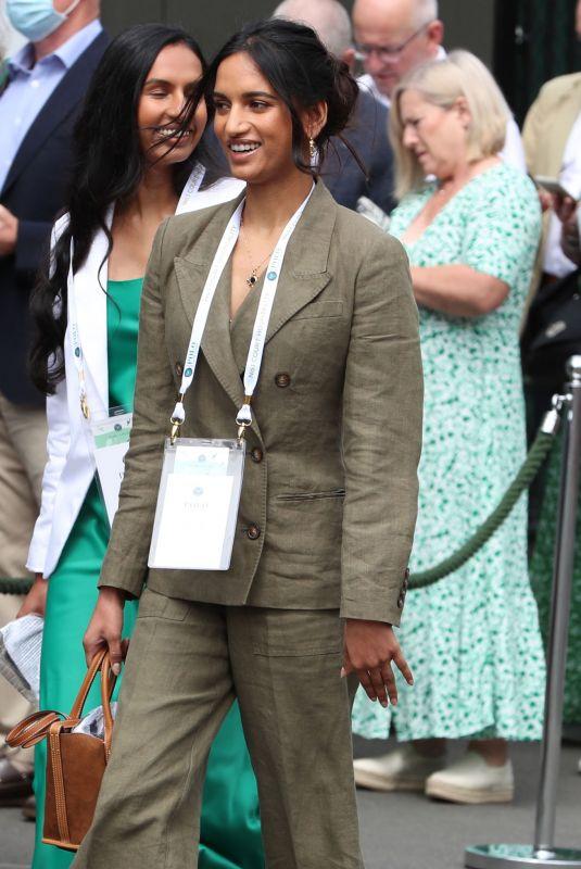 AMITA SUMAN at Wimbledon Championships Tennis Tournament in London 07/09/2021