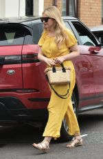 AMY HART Arrives at Theatre in Portsmouth 07/19/2021