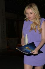 AMY HART Leaves Barbican Theatre in London 07/24/2021