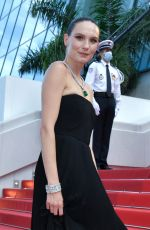 ANA GIRARDOT at OSS 117: From Africa With Love Screening at 2021 Cannes Film Festival 07/17/2021