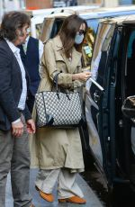 ANGELINA JOLIE Out in Paris 07/23/2021