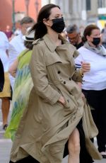 ANGELINA JOLIE Out in Venice 07/30/2021