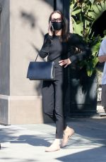 ANGELINA JOLIE Out Shopping at Knoll Home Design in West Hollywood 07/03/2021