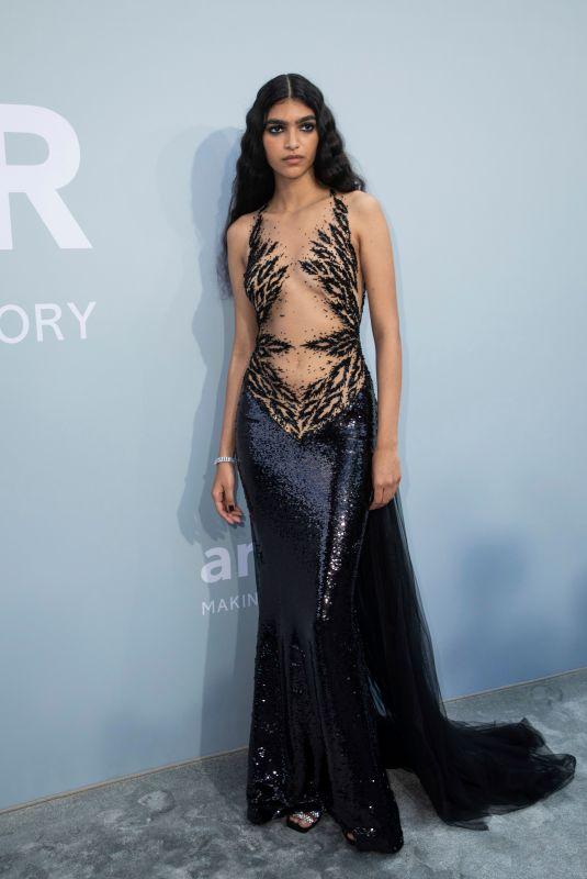 ANITA POZZO at 27th AmfAR Gala at 74th Cannes Film Festival 07/16/2021