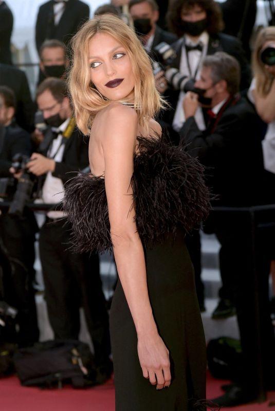 ANJA RUBIK at De Son Vivant Screening at 74th Annual Cannes Film Festival 07/10/2021