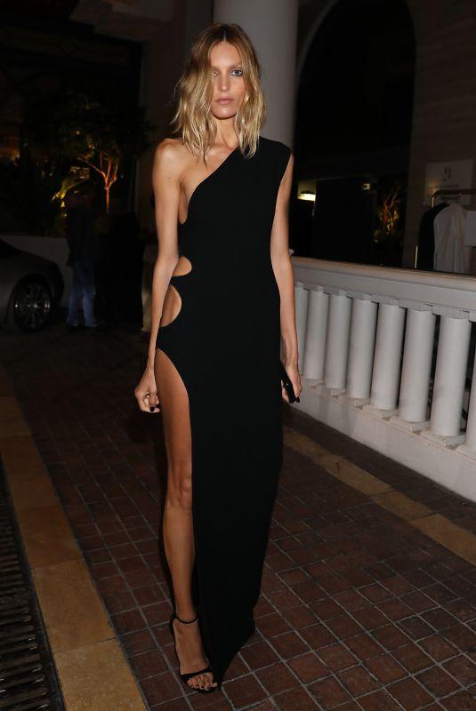 ANJA RUBIK at Hotel Majestic at 2021 Cannes Film Festival 07/09/2021