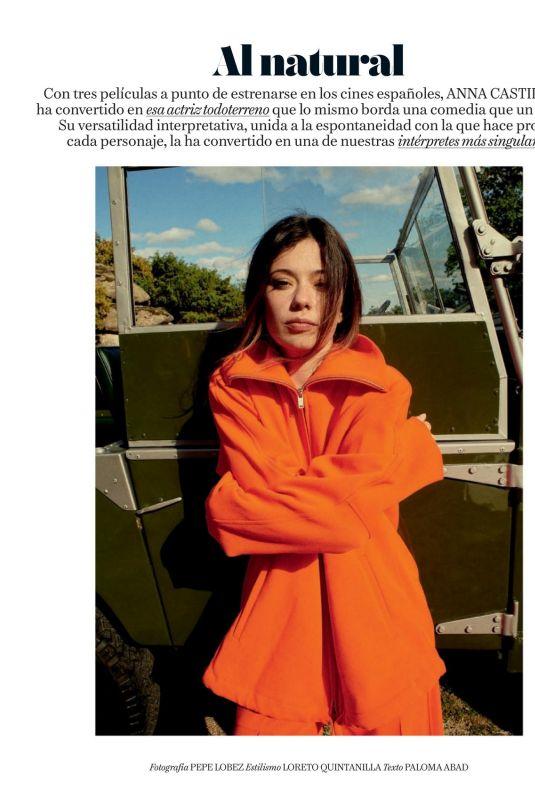 ANNA CASTILLO in Vogue Magazine, Spain August 2021