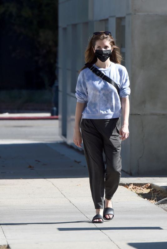 ANNA KENDRICK Out and About in Los Angeles 07/29/2021